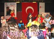 SOCIETY of CHILDREN with CEREBRAL PALSY Volunteer Activity -  Ankara, 20 April 2004